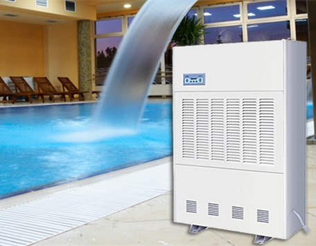 Electric refrigeration dehumidifier